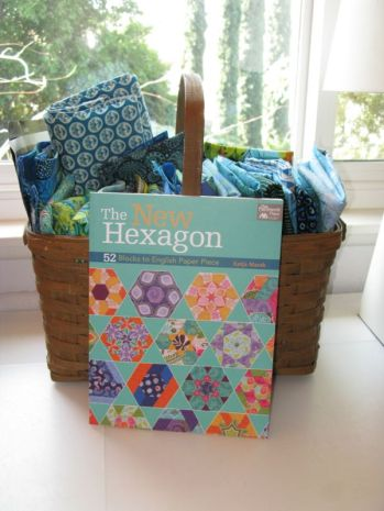 Basket of fabrics