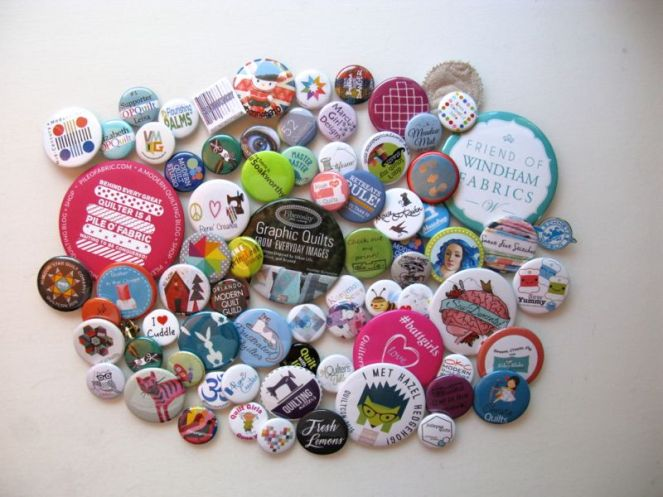 QuiltCon Buttons