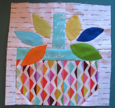 Basket Quilt Block