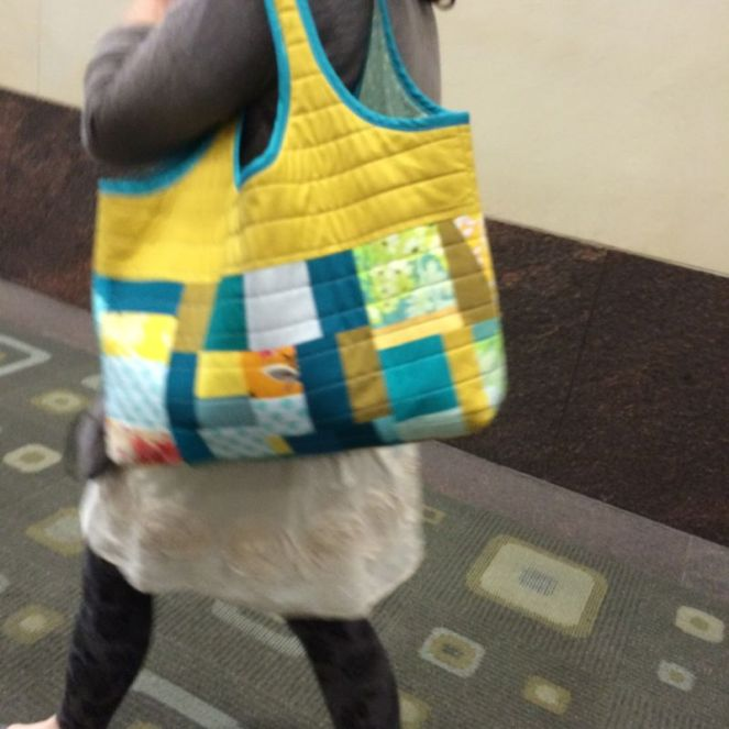 Brightly Colored Tote