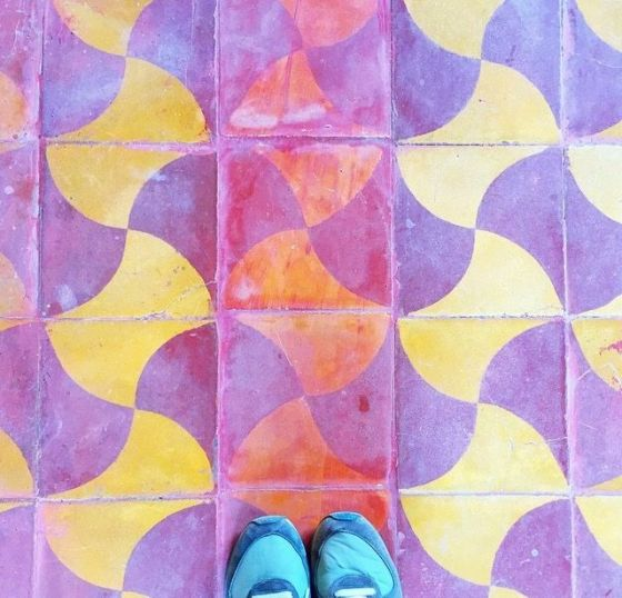Moroccan Tile from JillinItaly