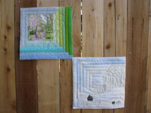 Two Art Quilts
