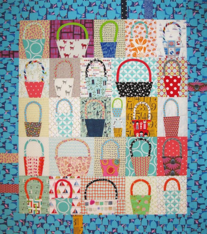 Basket Blocks Quilt Top