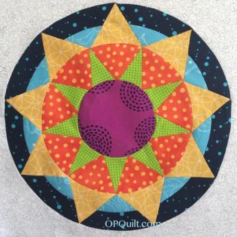 Circle Block #12_OPQuilt
