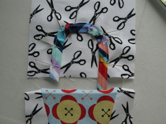 pinned handles baby baskets