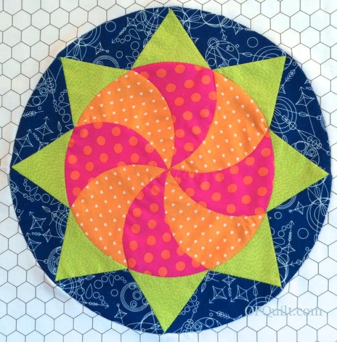 Circle Block 14_OPQuilt