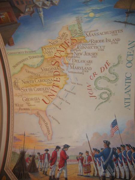 Early States Mural