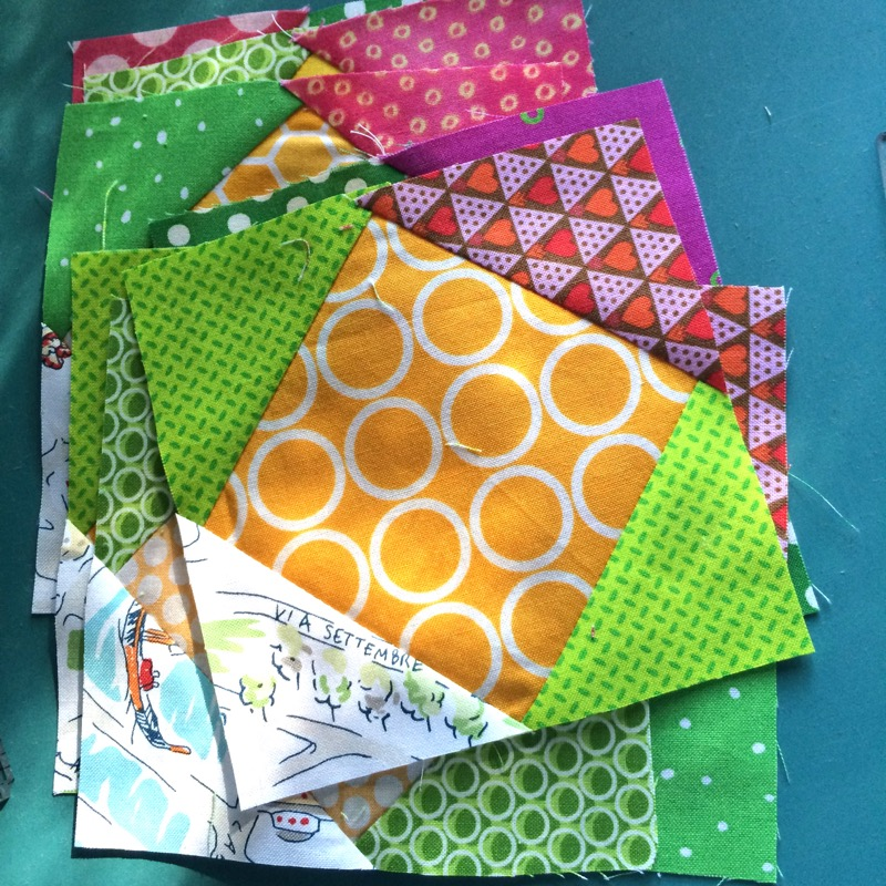 Mini House Quilt Finished Occasionalpiece Quilt