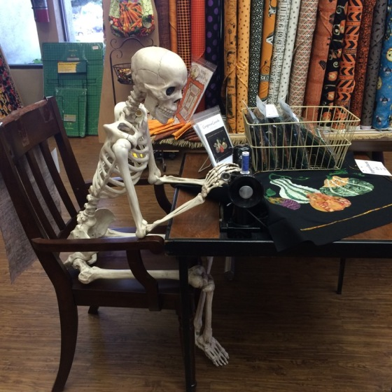 Sewing Skeleton