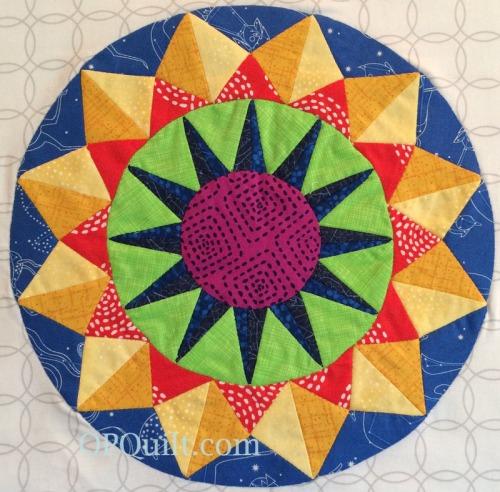 Circles Block 15_OPQuilt