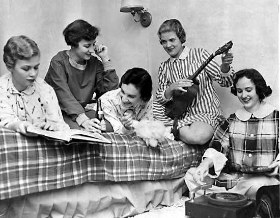 pajama party retro