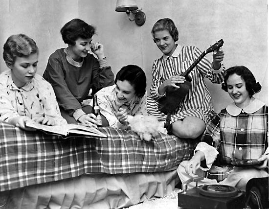pajama party retro