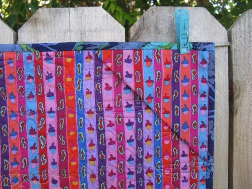 Mini Quilt hanging