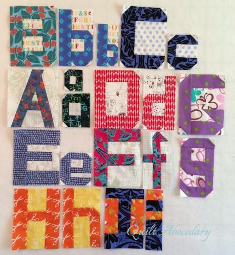 Alphabet to I
