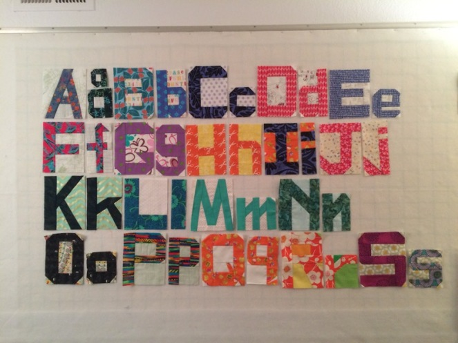 Alphabet to S