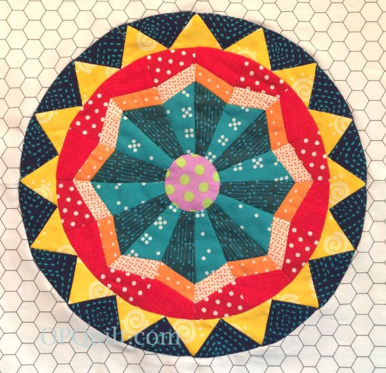 Circles 16_OPQuilt_marked