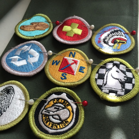 Merit Badge Sewing