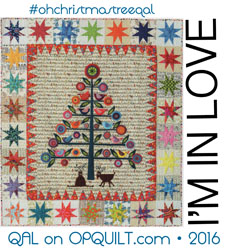 Oh Christmas Tree Quilt Along