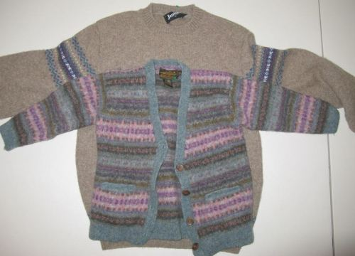 Wool sweaters felted_1