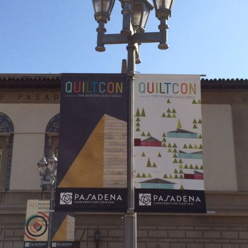 QuiltCon banners