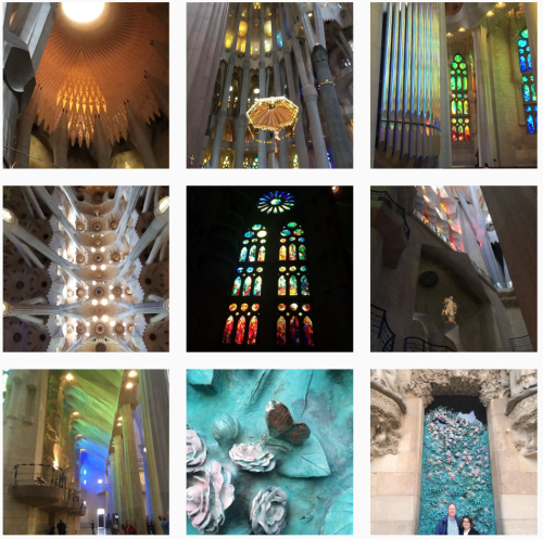 inspiration Sagrada Familia
