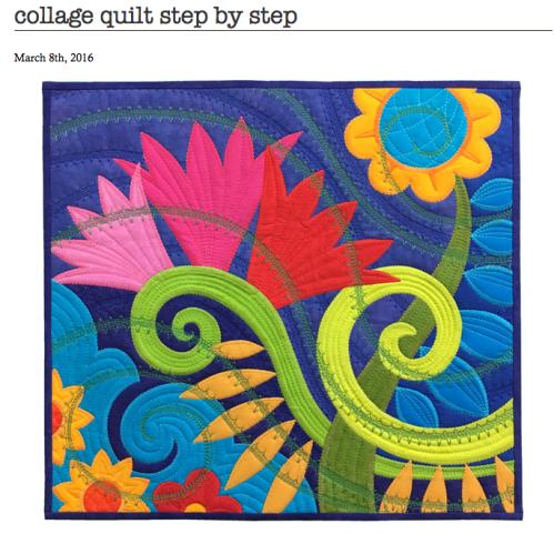 Sassaman collage quilt