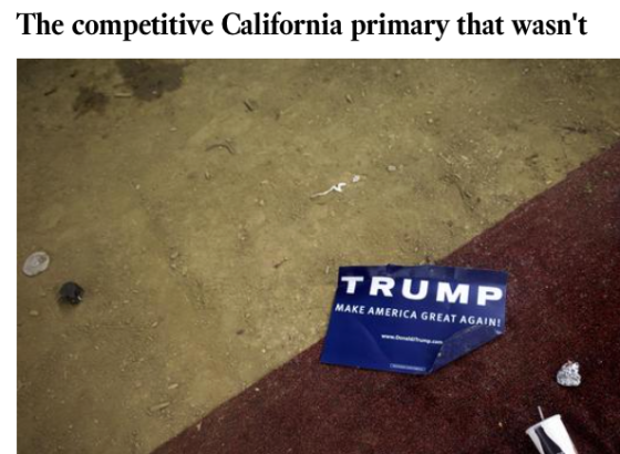 Cal Primaries 2016
