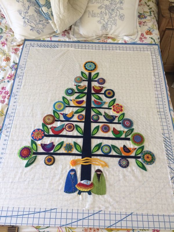 OhChristmasTree6_7 squaring quilt