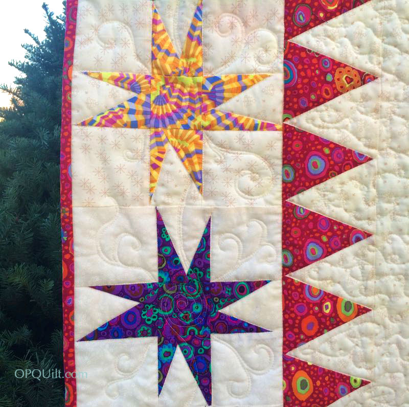 Jack Post Christmas Tree Stand: Oh! Christmas Tree Quilt