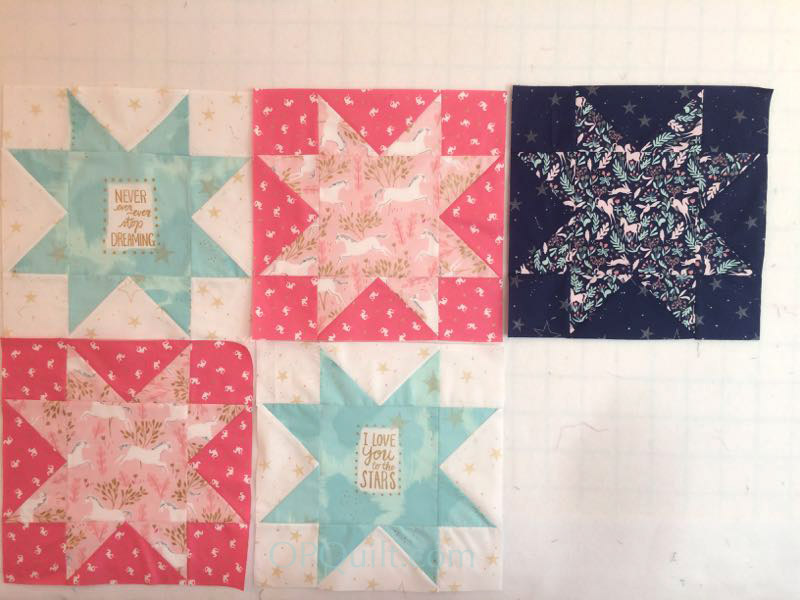 Magic Stars Quilt With Sarah Jane Fabrics