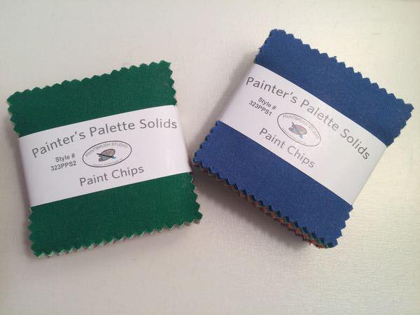 Paint Chips Painter's Palette Solids