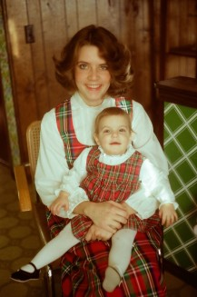 That daughter and I, long long ago.