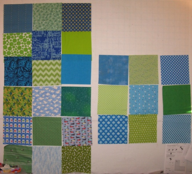 Riley Quilt layout