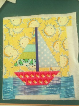 Tiny Sailboat Quilt_1a