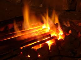 irons in a fire