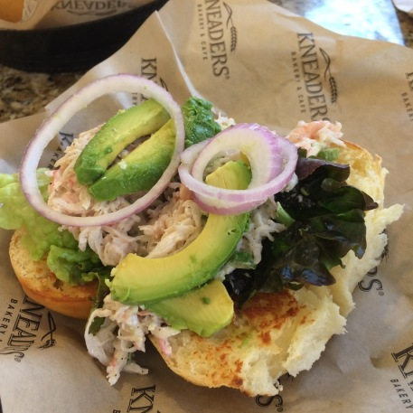 Kneaders Seafood Sandwich