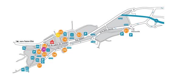 Ste MarieauxMines Map