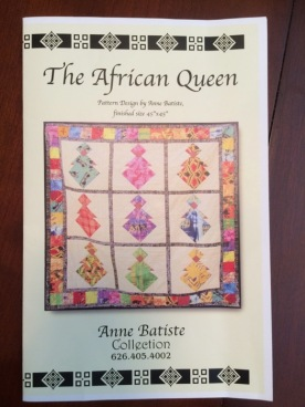 African Queen Pattern_front