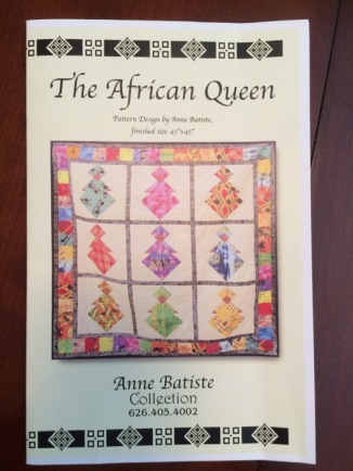 African Queen Pattern_front
