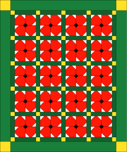 Poppies Quilt