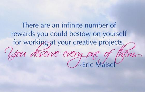 Rewards for WorkingCreatively
