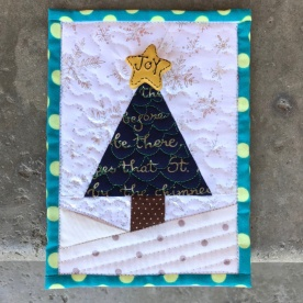 Teeny Quilt Xmas tree1