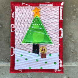 Teeny Quilt Xmas tree2
