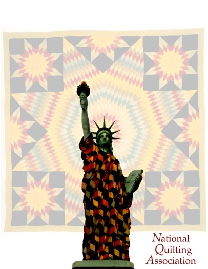 Lady Liberty in Quilts