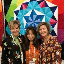 QuiltCon Booth Staff
