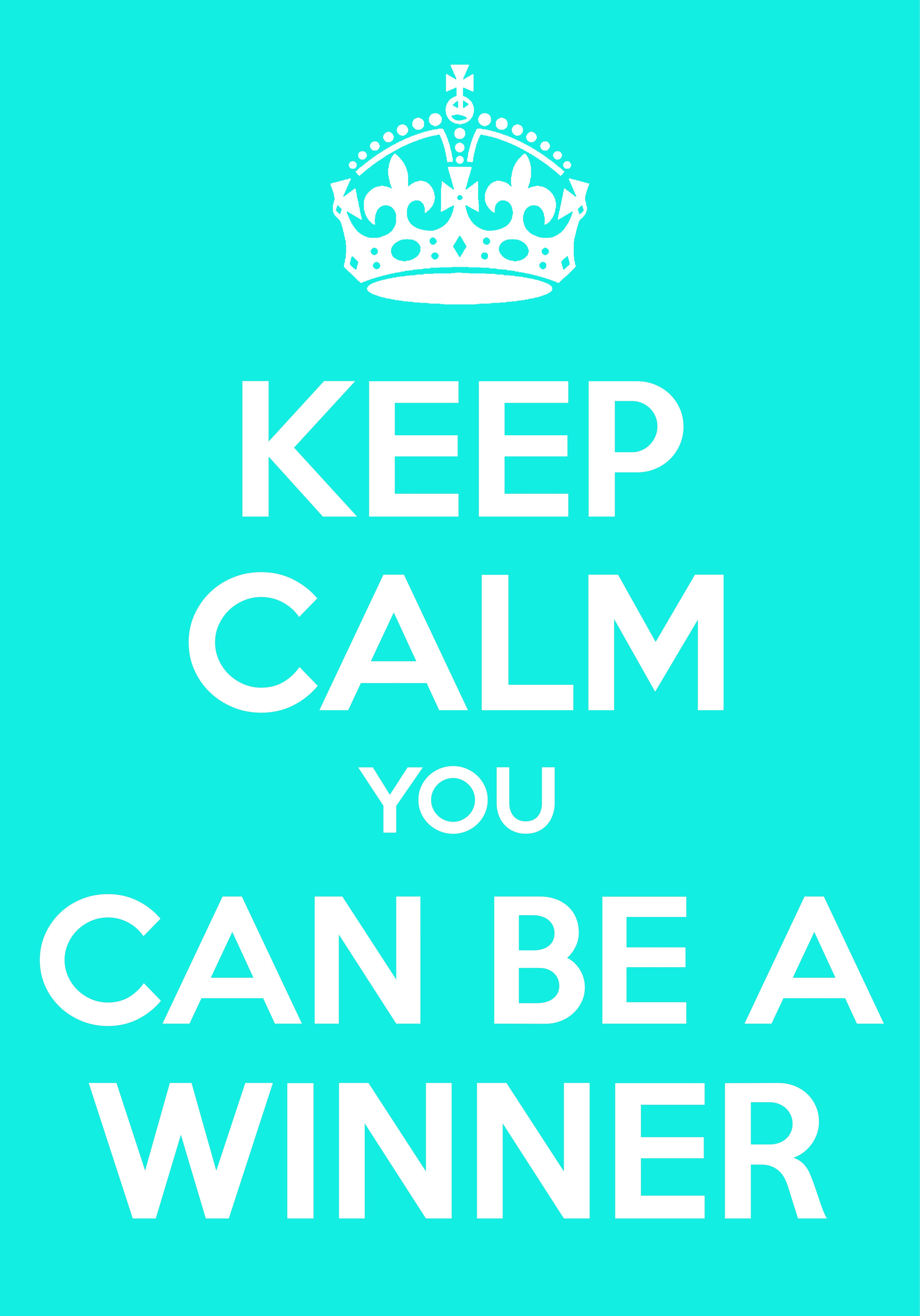 You Can Be A Winner