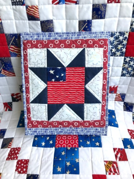Fourth July Tiny Quilt