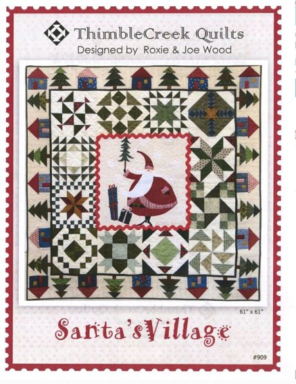Santa's Village Pattern