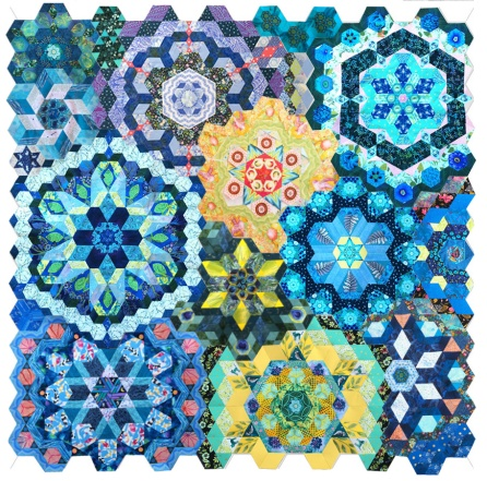All Rosettes_OPQuilt
