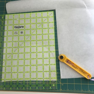 1_Trimming Freezer Paper